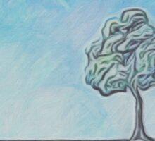 One Little Tree Sticker