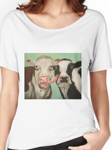 Cowlicious Women's Relaxed Fit T-Shirt