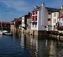 Whitby Harbour by GeorgeOne