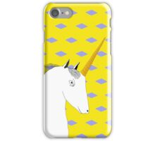 Skeptical Unicorn  iPhone Case/Skin
