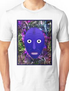 AFRICAN 3D ABSTRACT; Witch Doctor Mask Print Unisex T-Shirt