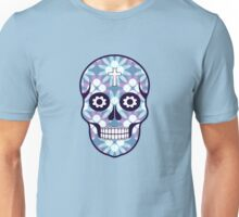 The pattern with skulls. Day of the Dead Unisex T-Shirt