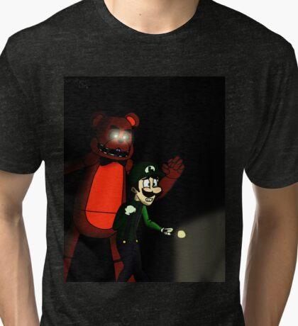 Luigi's Pizzeria  Tri-blend T-Shirt