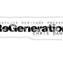 ReGeneration by Chris Dawid 3 Sticker