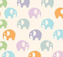 Elephant Pattern by kmacneil91