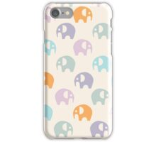 Elephant Pattern iPhone Case/Skin
