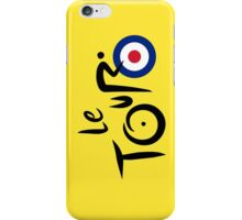 Le Tour de Britain iPhone Case/Skin