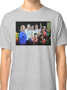 WOMEN'S TEAM USA WITH HANDLERS Classic T-Shirt