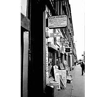 Clan Stores Photographic Print