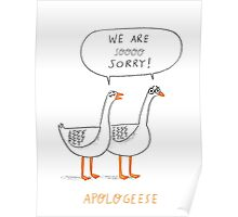 Apologeese Poster