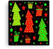 Playful Xmas Canvas Print
