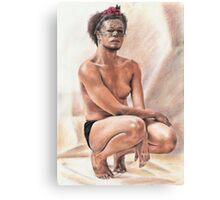 Boy Jaja Canvas Print