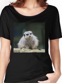 Fluffy Meerkat Women's Relaxed Fit T-Shirt