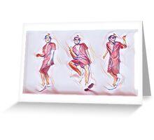 Bruno Mars 24k Magic  Greeting Card