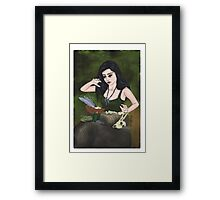 Witch of the Forest Framed Print