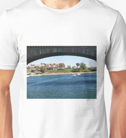 View Under London Bridge  Unisex T-Shirt