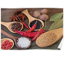 Spicy kitchen Poster