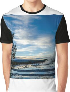 Yellowstone National Park Hot Springs Graphic T-Shirt