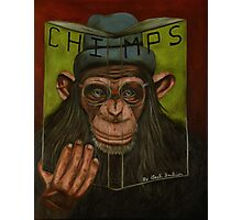The Book Of Chimps  Photographic Print