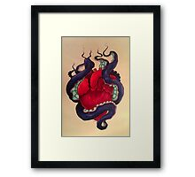 Your love is like a shadow on me all of the time Framed Print
