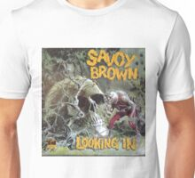 Savoy Brown Looking In Unisex T-Shirt