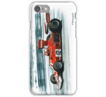1974  Ferrari 312B3 iPhone Case/Skin