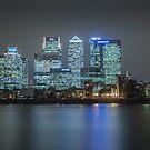 London Skyline by Ian Hufton