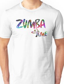 Zumba Time! Unisex T-Shirt