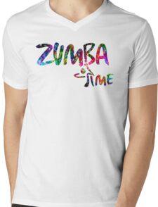 Zumba Time! Mens V-Neck T-Shirt