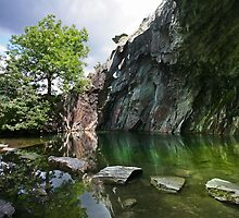 Rydal Cave-English Lake District by Mark Haynes Photography