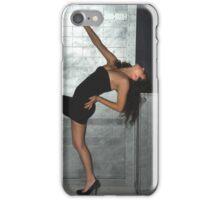 Black Dress Woman iPhone Case/Skin