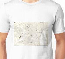 Vintage Map of Philadelphia (1885) Unisex T-Shirt