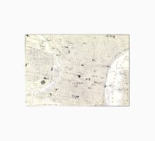 Vintage Map of Philadelphia (1885) Unisex T-Shirt
