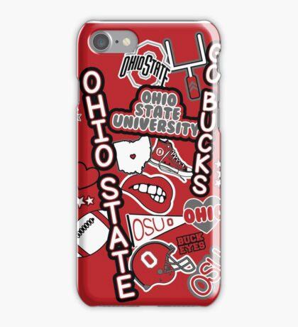 OSU Collage iPhone Case/Skin