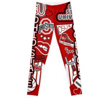 OSU Collage Leggings