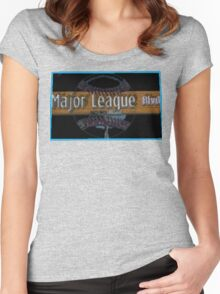 Major League Blvd. Women's Fitted Scoop T-Shirt