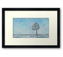 One Little Tree Framed Print