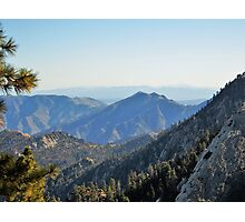 Mountains Above Palm Springs Photographic Print