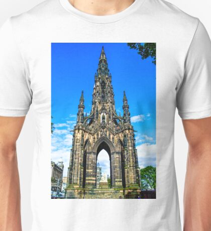Sir Walter Scott's Monument Unisex T-Shirt