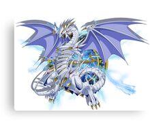 Blue-Eyes Spirit Dragon Canvas Print