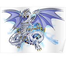 Blue-Eyes Spirit Dragon Poster