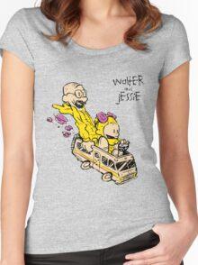 Walter & Jessie Women's Fitted Scoop T-Shirt