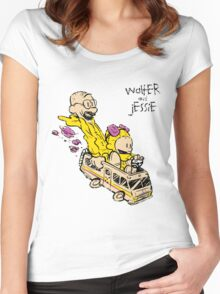 Walter & Jessie Women's Fitted Scoop T-Shirt