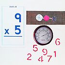 Numbers Game. Blue. Pink. by Jenny Davis