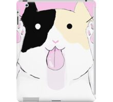 Calico licking your screen iPad Case/Skin