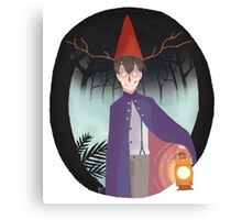 Wirt - Over the Garden Wall Canvas Print