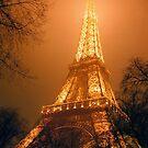 Eiffel Tower, Paris by Alberto  DeJesus