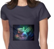 ANGEL FAIRY STARDUST IN THE NIGHT Womens Fitted T-Shirt