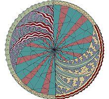 The Circus Vibe Mandala by thomasstevens