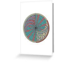 The Circus Vibe Mandala Greeting Card